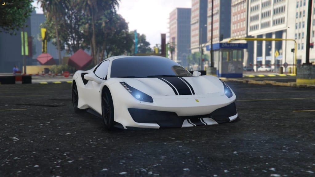 Ferrari 488 Pista Spider Powerslide Handling Beta Gta 5 Mod Grand Theft Auto 5 Mod