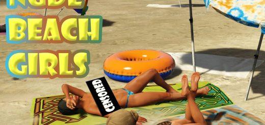 Nude beach girls Baring It