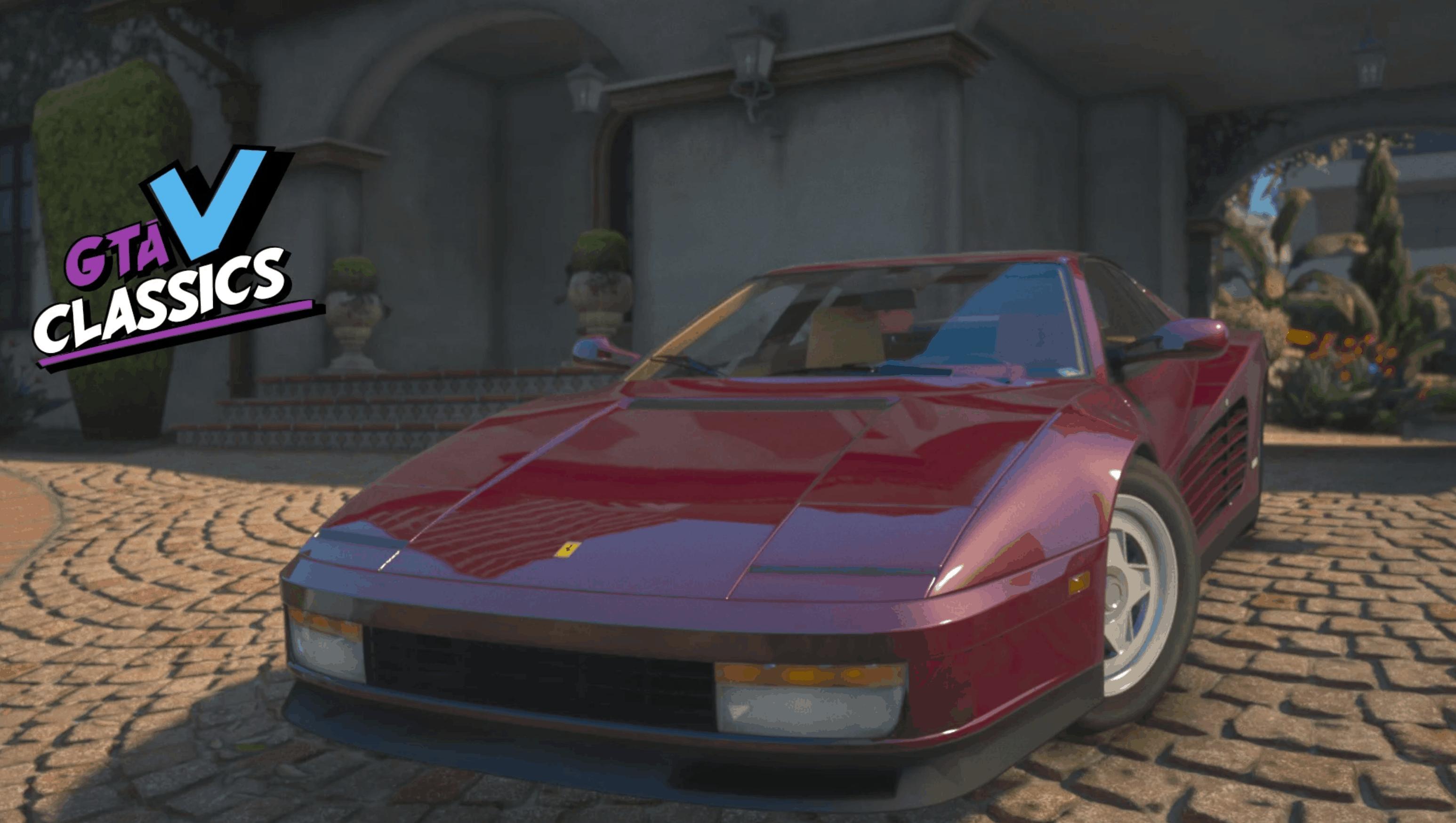 1987 Ferrari Testarossa Gta 5 Mod Grand Theft Auto 5 Mod
