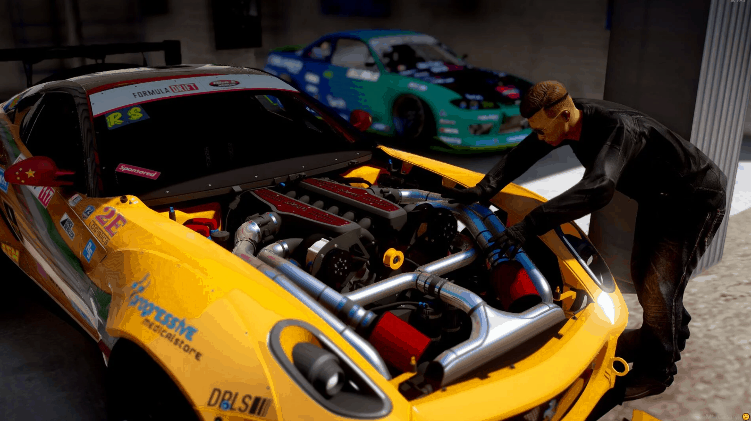 Formula Drift Ferrari 599 Gtb Fiorano 1 0 Gta 5 Mod Grand Theft Auto 5 Mod